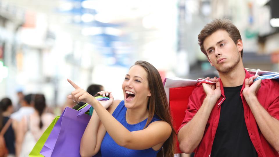 двойка скука пазаруване черен петък