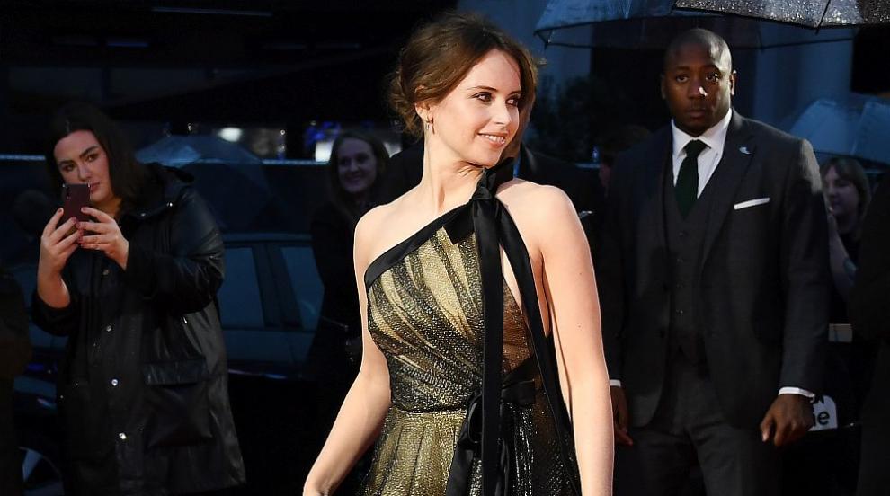 Актрисата Фелисити Джоунс очаква първото си дете