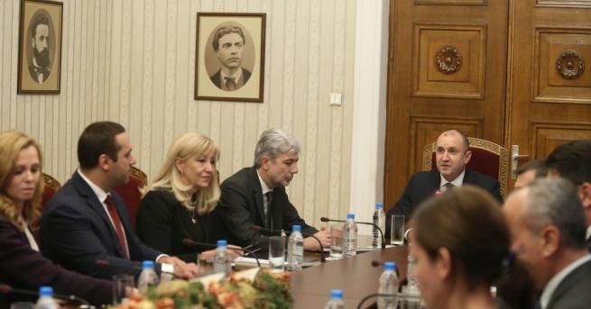 Президентът Румен Радев заяви, че в климатичните промени не могат