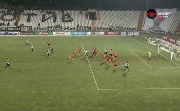 С втори гол Димитър Илиев подпечата победата на смърфовете