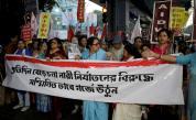 Протест в Индия, след като жена беше изнасилена и изгорена