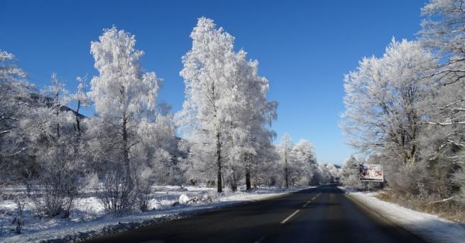Петнадесетте сантиметра първи сняг и студът дадоха нов, бял и