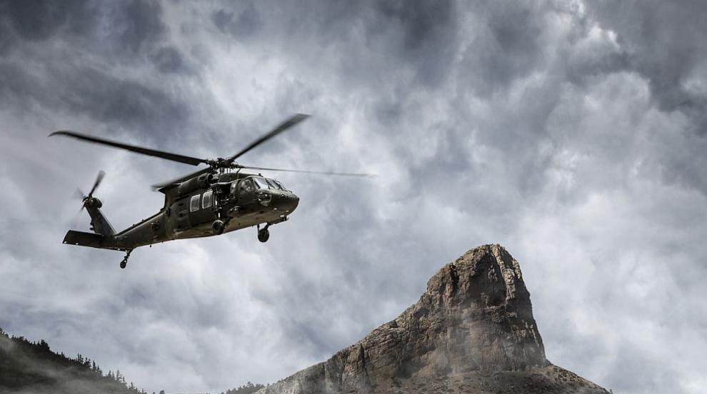 Свалиха сирийски правителствен хеликоптер в Идилиб,...