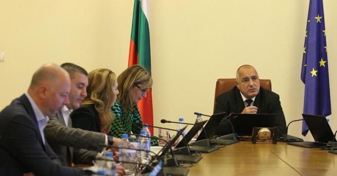 Премиерът Бойко Борисов възложи на финансовия министър Владислав Горанов да