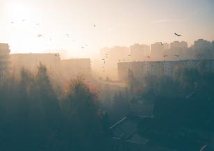 Опасно мръсен въздух в София