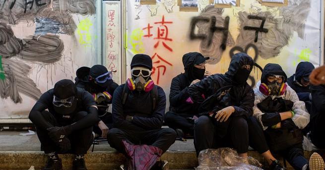 При протестите през последните шест месеца хонконгската полиция е извършила