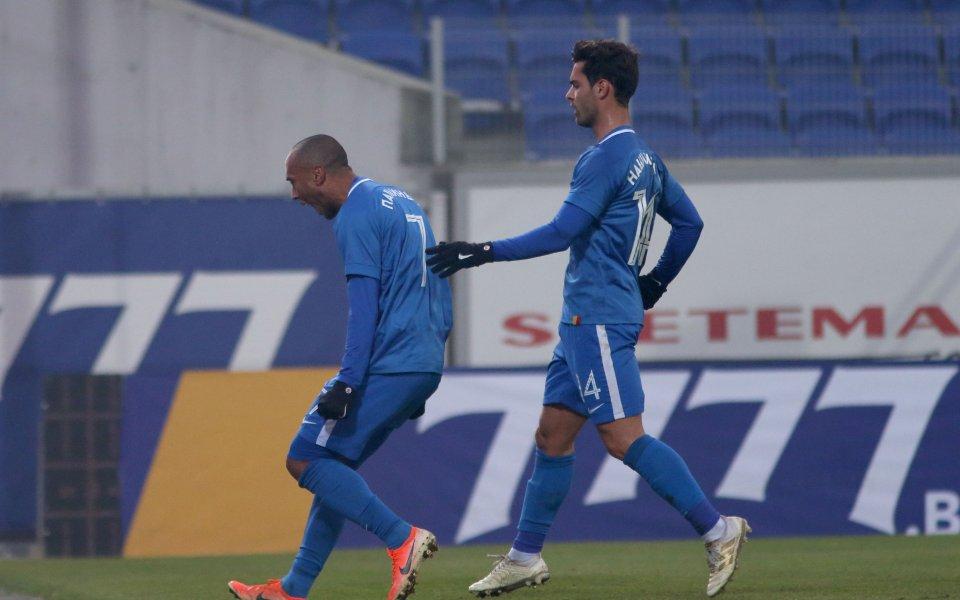 Левски победис лекота 2:0 Витоша Бистрица в мач от 19-ия