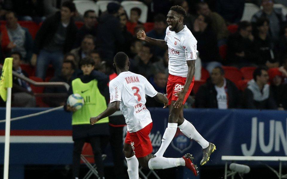 Реймс спечели с 3:1 срещу Сент Етиен в мач от