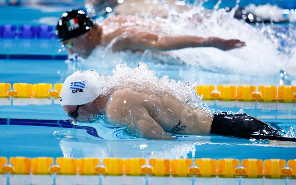 Грък спечели титлата на 200 метра бътерфлай, Антъни Иванов със седмо място
