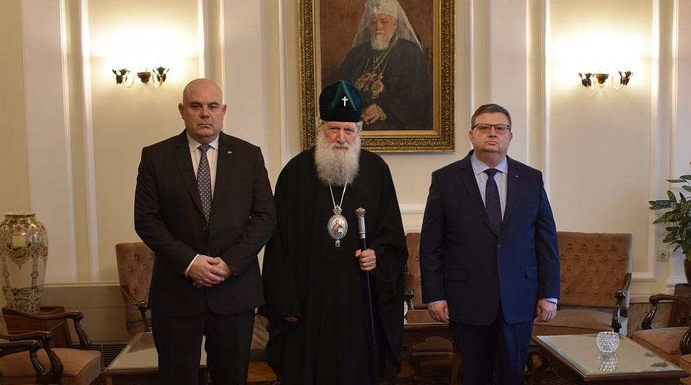 Патриарх Неофит пожела успешен мандат на Иван Гешев