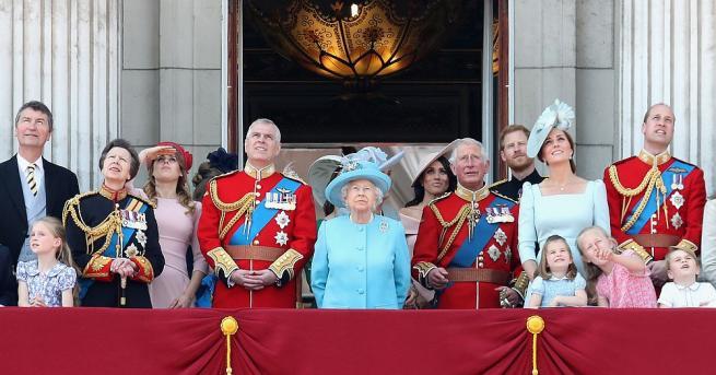 Животът на британското кралско семейство се различава от този на