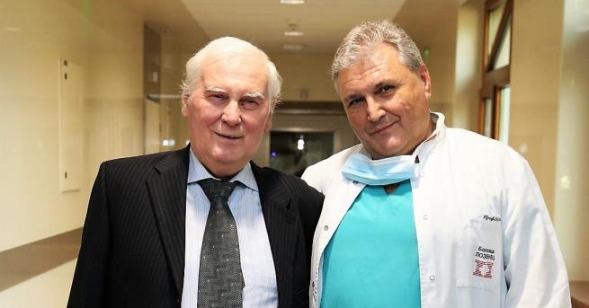 Пациентът с първата белодробна трансплантация, извършена в България бе изписан