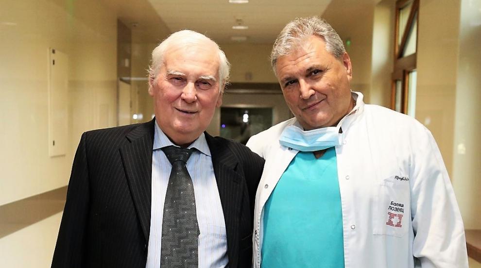 Изписаха пациента с първата белодробна трансплантация, извършена в...