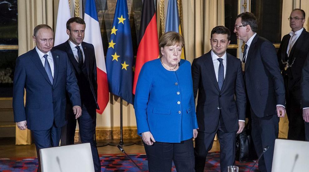 Путин и Зеленски се споразумяха да съживят мирния процес в Източна Украйна
