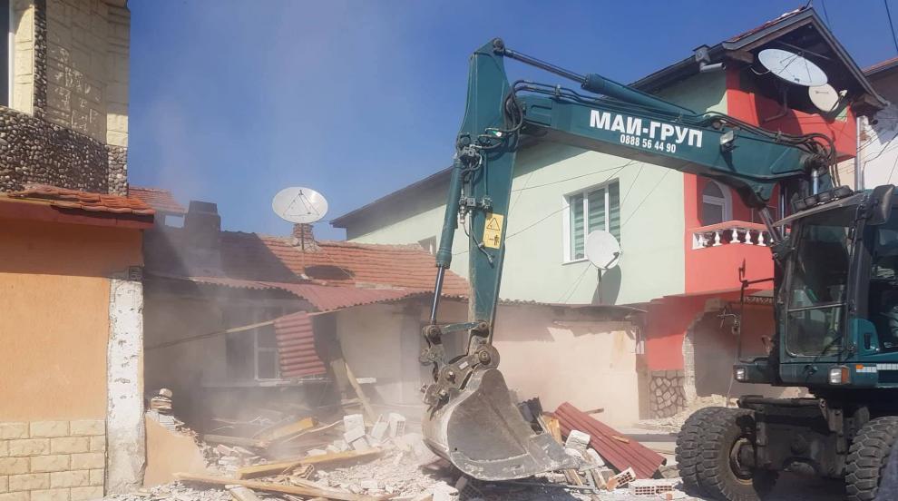 Събарят 9 незаконни къщи в пловдивската