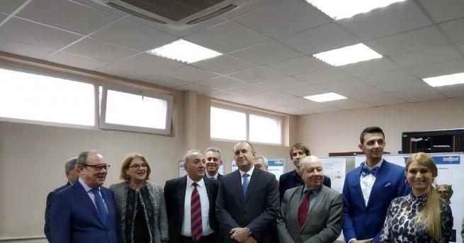 България се позиционира на световната иновационна карта. Това каза президентът