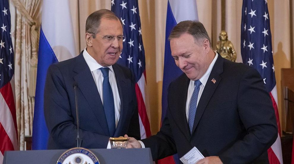 Помпео: Искаме да задълбочим сътрудничеството си с Русия срещу тероризма и...