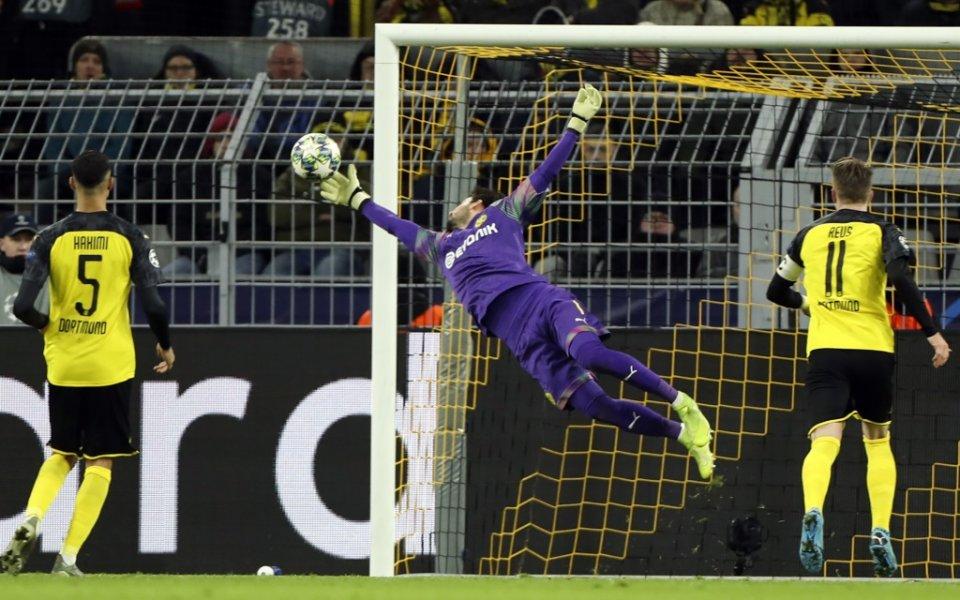 Борусия Дортмунд победи с 2:1 Славия Прага в последен двубой
