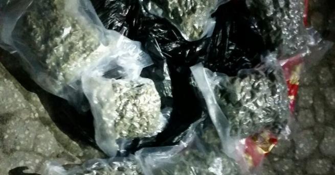 Близо 4 килограма марихуана е иззета при специализирана операция на