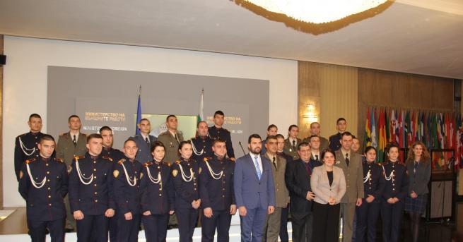 Заместник-министърът на външните работи Георг Георгиев се срещна с курсанти