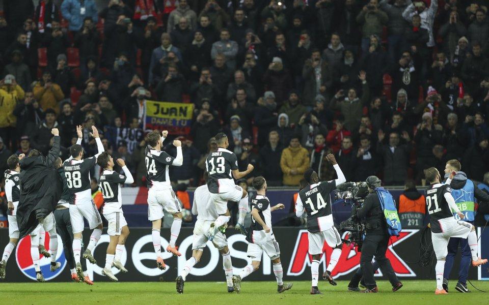 Тимът на Ювентус завърши с победа груповата фаза на Шампионската