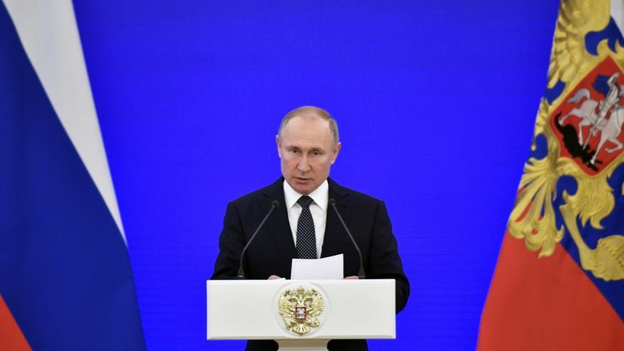 Какво каза Путин в новогодишното си послание