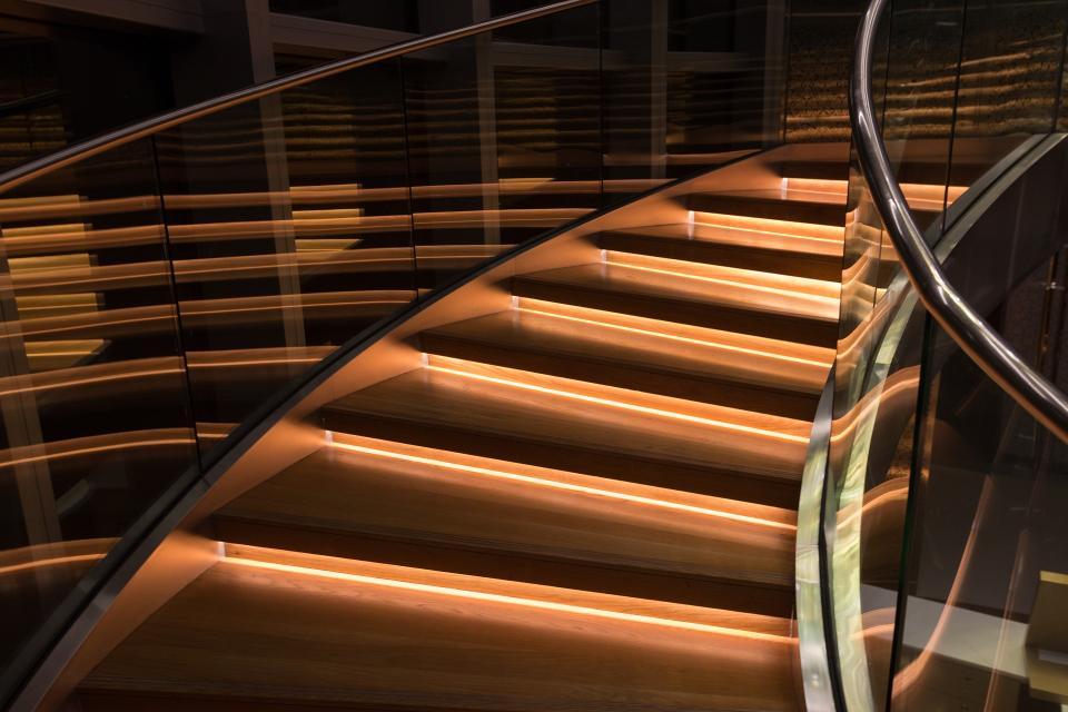 стълби интериор