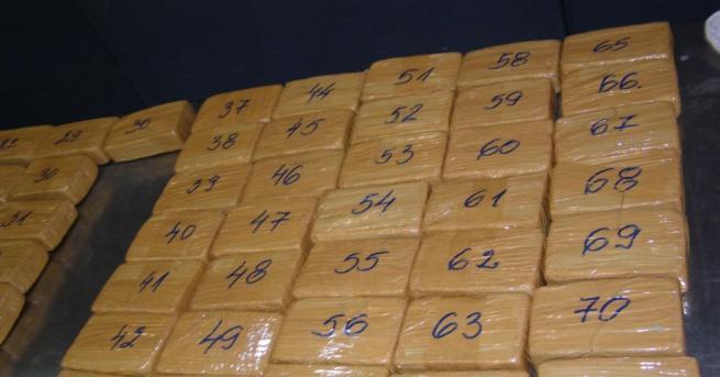 """Снимка: Задържаха хероин за над 1,430 000 лв. на ГКПП ГКПП """"Дунав мост""""-Русе"""
