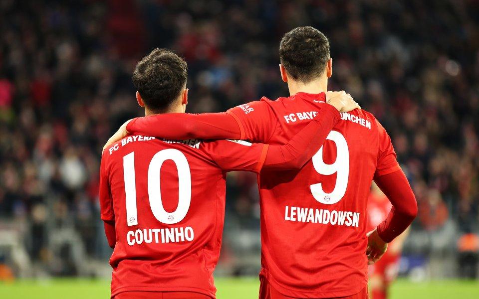 Звездата на Байерн Мюнхен Роберт Левандовски сподели, че клубът трябва