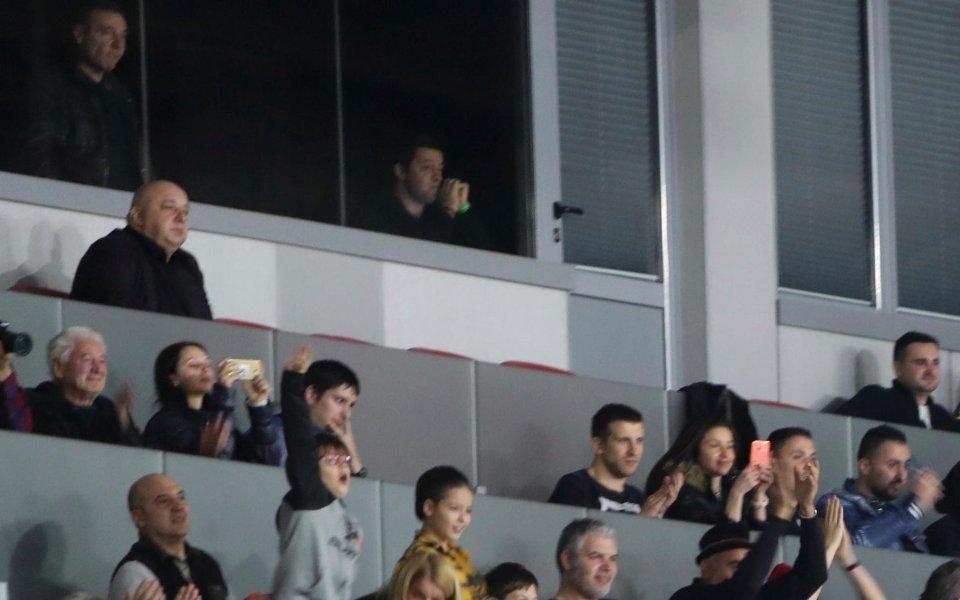 Министър Кралев присъства на финала на