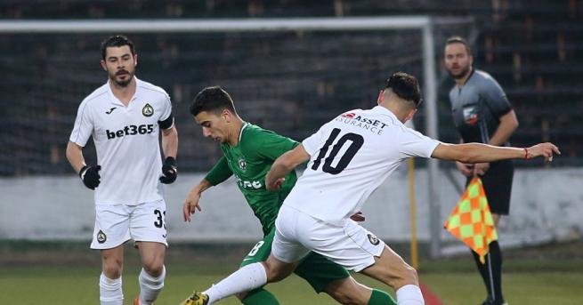 Отборът на Лудогорец приключи 2019-та година с равенство срещу Славия.