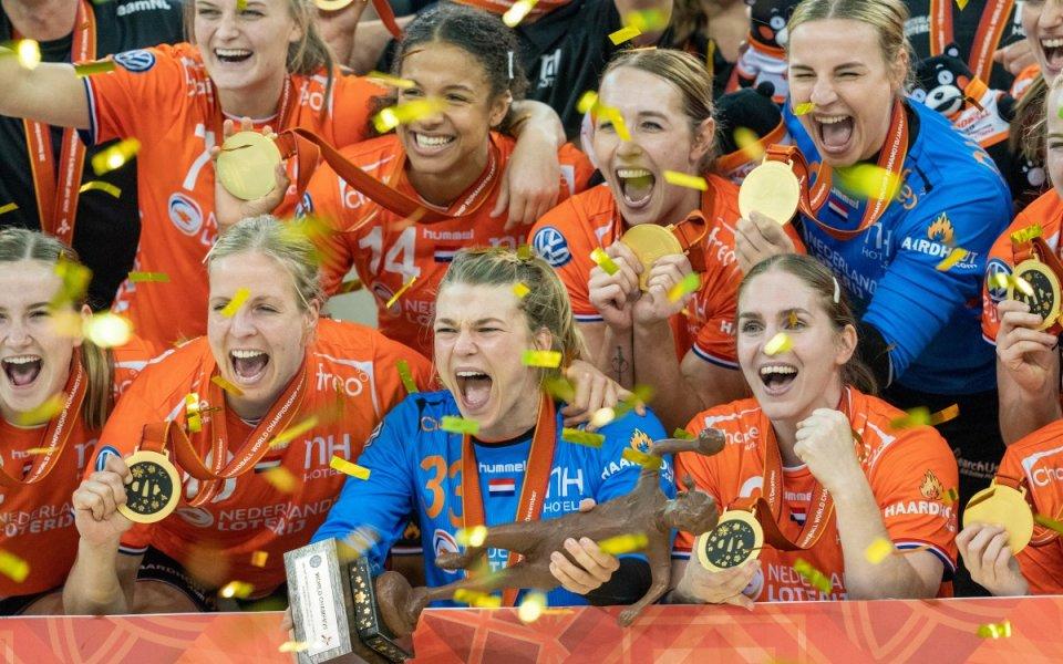 Първа световна титла за Холандия в женския хандбал