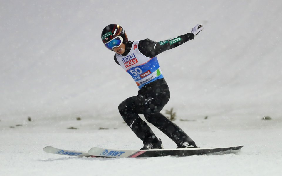 Носителят на Световната купа по ски скокове за изминалия сезон