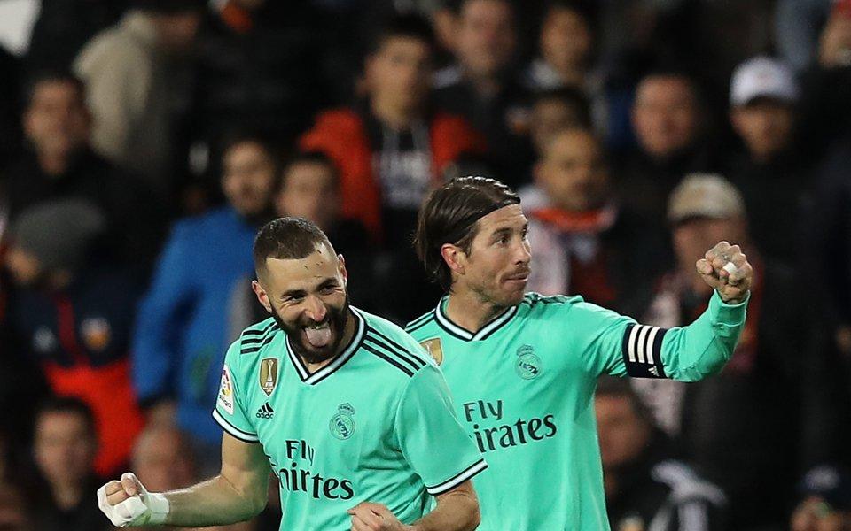 Треньорът на Реал Мадрид Зинедин Зидан заяви след равенството 1:1