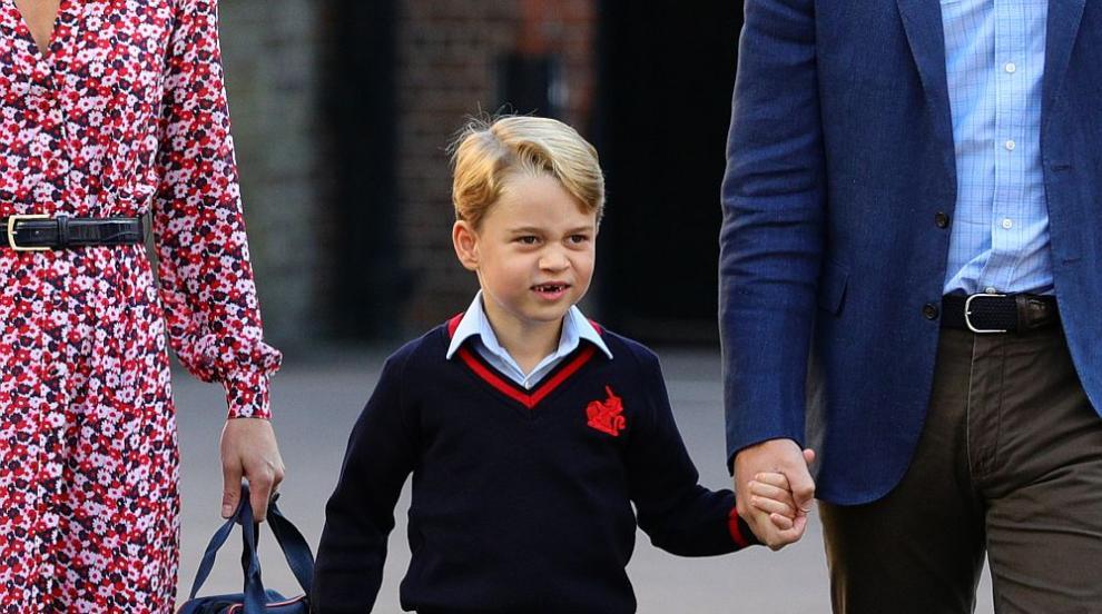 Принц Джордж се сдоби със зъб от праисторическа акула