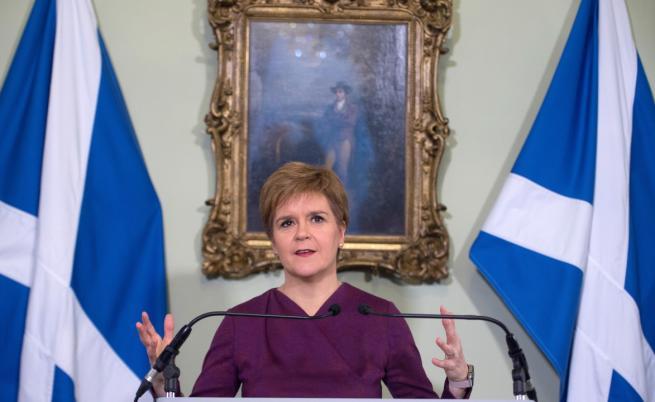 Шотландия иска референдум за независимост, Великобритания отказа