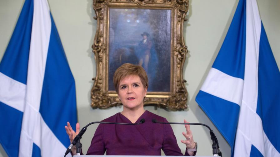 <p>Шотландия иска референдум за независимост</p>