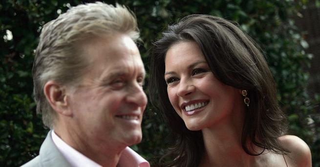 Холивудската двойка Майкъл Дъглас и Катрин Зита-Джоунс избраха да отбележат