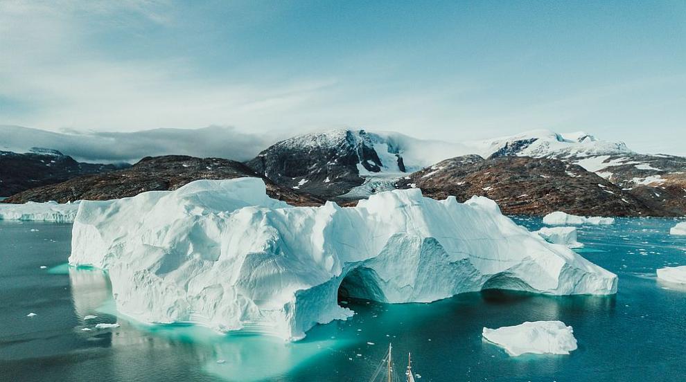 """Рекордна загуба: Гренландия е """"отслабнала"""" с 532..."""