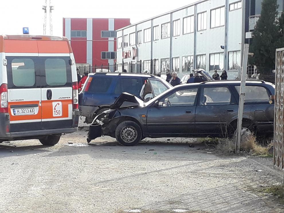 Инцидентът стана малко преди обяд