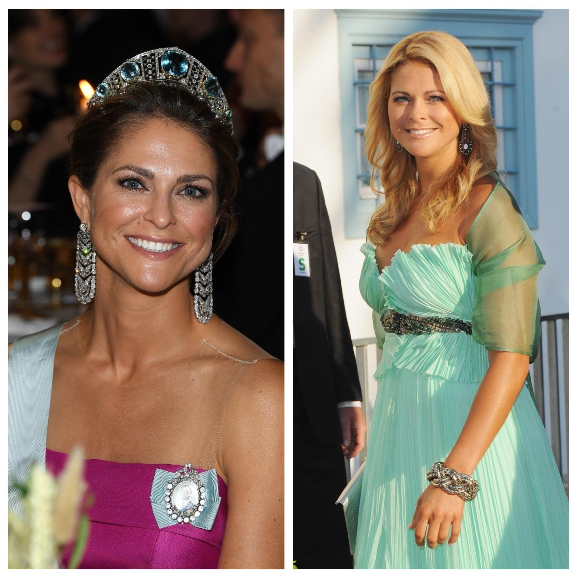 <p><strong>Принцеса Маделин</strong></p>  <p>Тя е най-малката дъщеря на шведския крал Карл XVI Густав и кралица Силвия.&nbsp;</p>  <p>Принцесата е автор на детски книги и активно се занимава с благотворителност.</p>  <p>Омъжена е за Кристофър О&#39;Нийл и двамата имат 3 деца.</p>