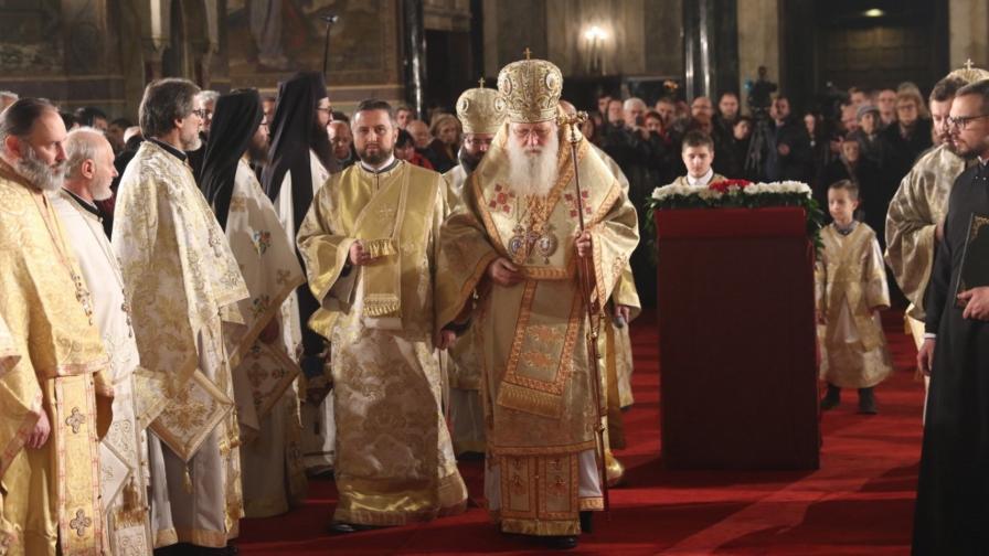 Патриарх Неофит води тържественото богослужение за Бъдни вечер