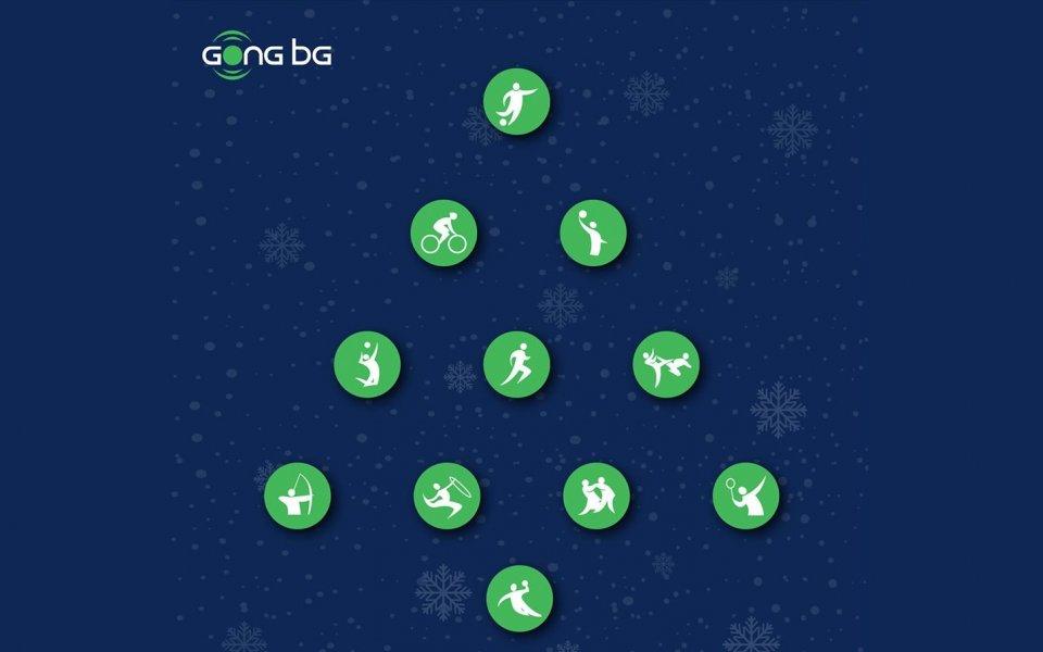 Весела Коледа от екипа на Gong.bg!