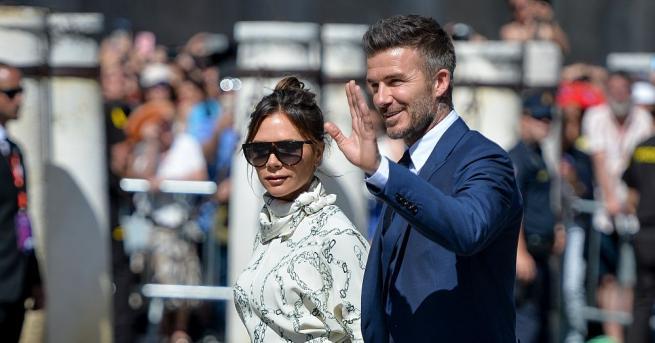 Известната двойка Дейвид и Виктория Бекъм отпразнуваха своята годишнина. Двамата