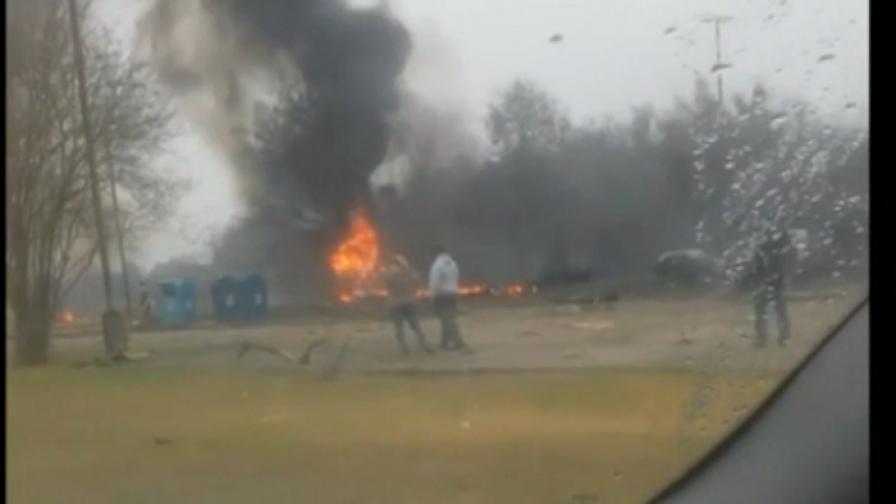 Малък самолет се разби в Луизиана, петима загинаха