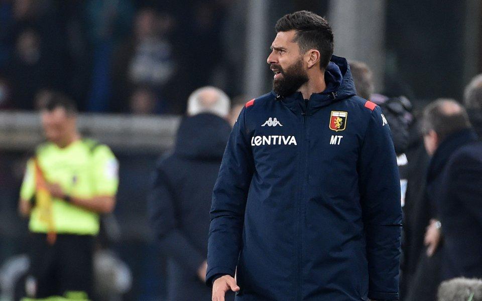 Ръководството на италианския клуб Дженоа обяви официално, че се разделя