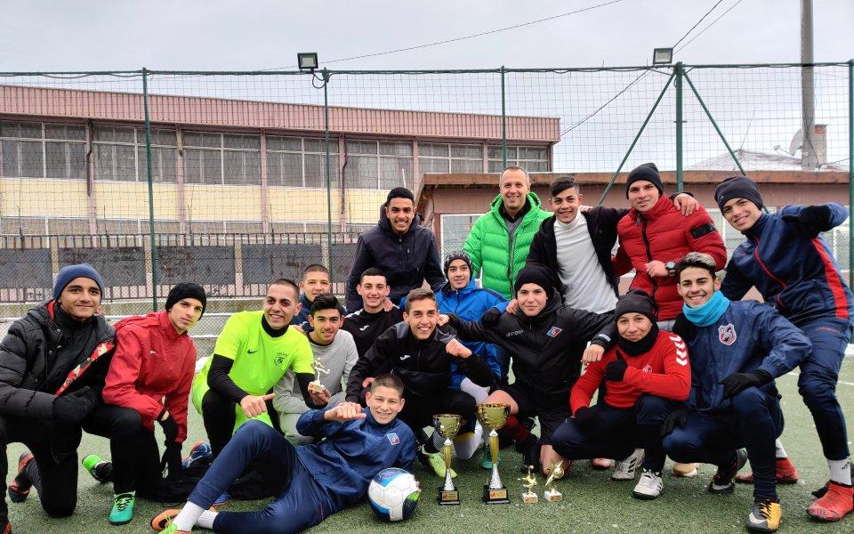 Играчи от Отбор на надеждата направиха  благотворителен турнир във Факултета