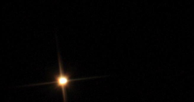 Бетелгейзе, обикновено една от най-ярките звезди на небосклона, е започнала