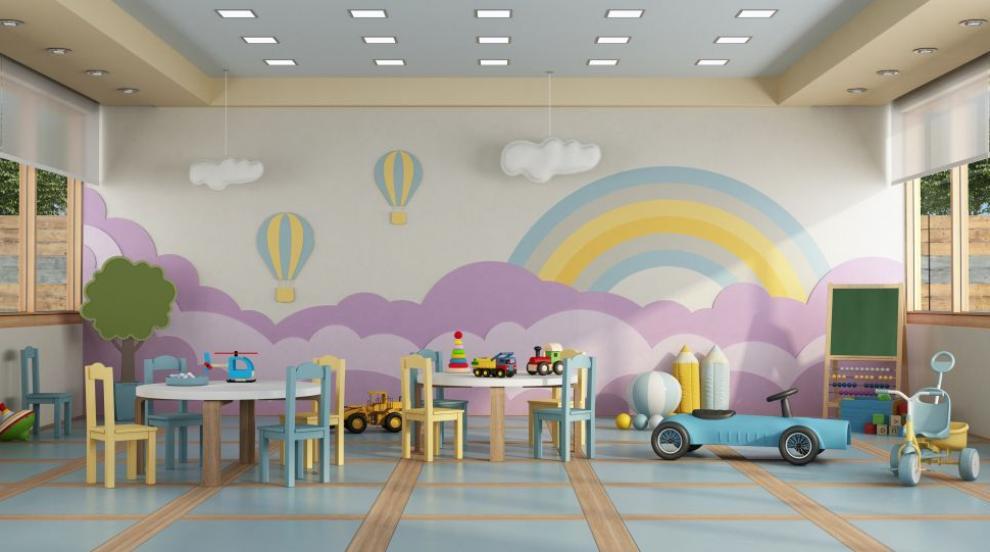 Карантина и дезинфекция в детска градина в...