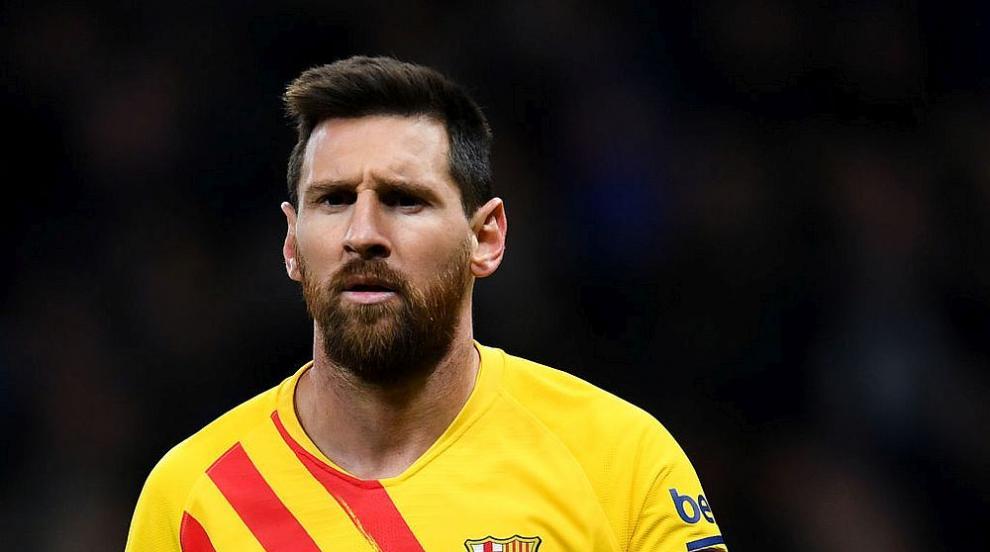 Меси се появи за първата си тренировка с Барселона...